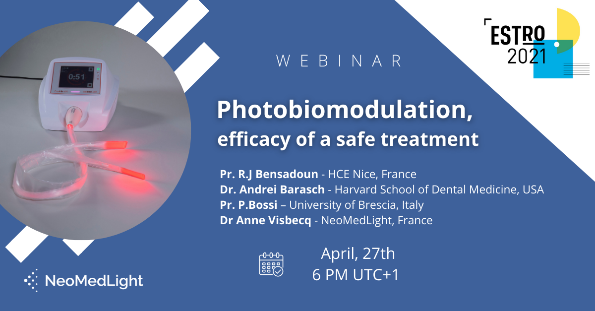 Estro 2021 – Photobiomodulation: efficacy of a safe treatment